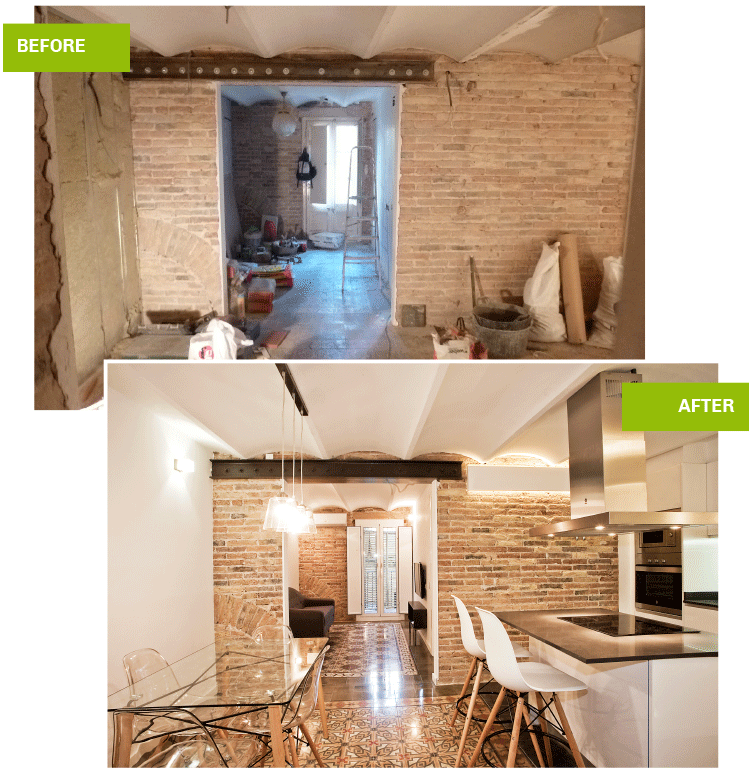 Real Estate Agency Barcelona - Refurbishment